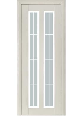 Модель 117 ясень crema со стеклом