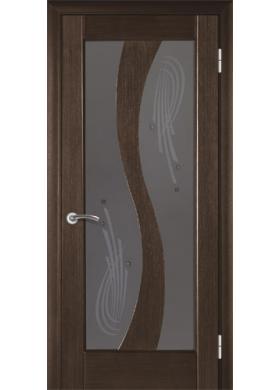 Межкомнатная дверь Модель 15 венге со стеклом