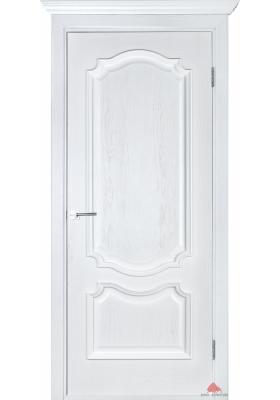 межкомнатная дверь престиж белый ясень глухая