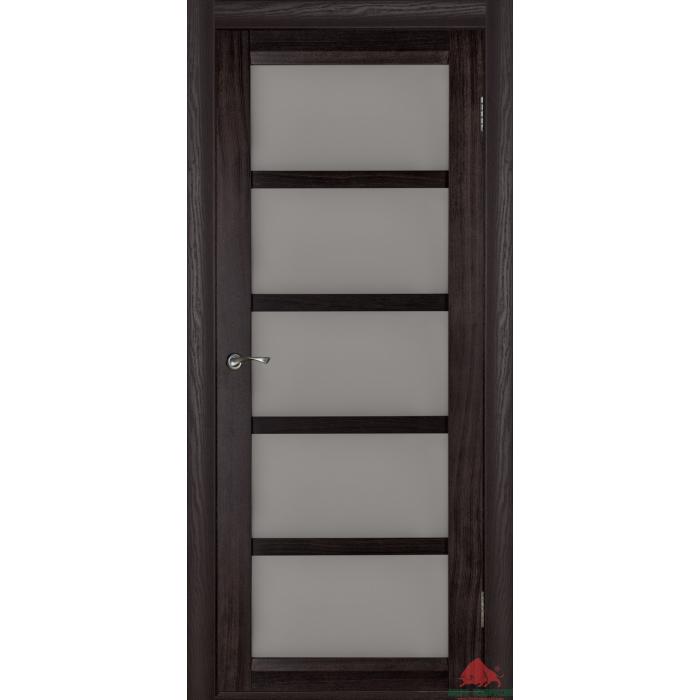 межкомнатные двери шпонированные бристоль э венге со стеклом