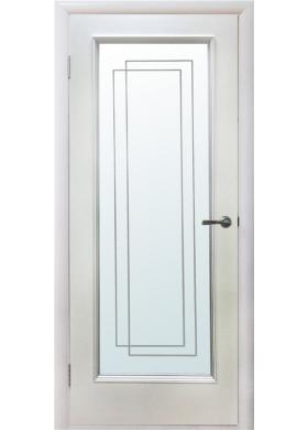Триумф белый лак с зеркалом