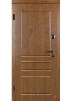 Входная дверь Вена Э дуб золотой