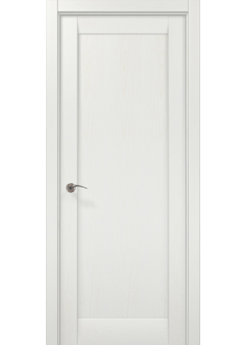 Межкомнатная дверь Папа Карло ML-00Fс белый ясень