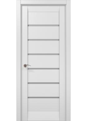 Межкомнатная дверь Папа Карло ML-14с белый матовый