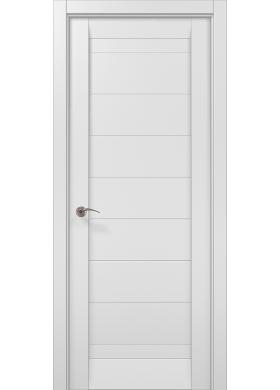 Межкомнатная дверь Папа Карло ML-04с белый матовый