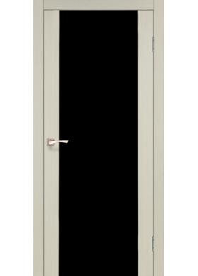 SR-01 дуб беленый черное стекло триплекс 8 мм