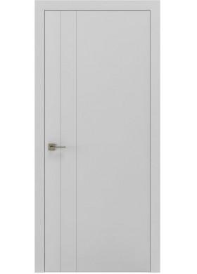 Межкомнатная дверь Rodos Loft Berta V вставка белый матовый