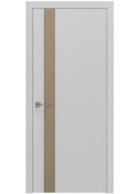 Межкомнатная дверь Rodos Loft Berta V вставка латте