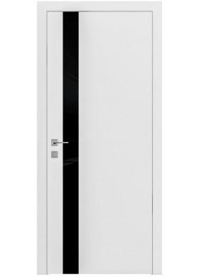 Межкомнатная дверь Rodos Loft Berta V вставка черный глянец