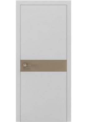 Межкомнатная дверь Rodos Loft Berta G вставка латте