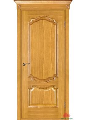 Межкомнатная дверь Престиж светлый дуб глухая