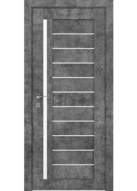 Межкомнатная дверь Rodos Modern Bianca серый мрамор
