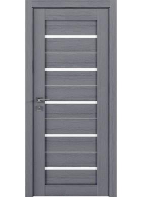 Межкомнатная дверь Rodos Lazio каштан серый