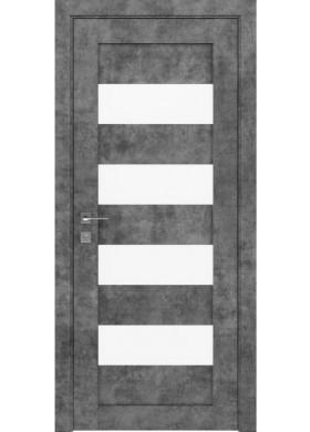 Межкомнатная дверь Rodos Milano серый мрамор