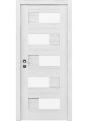 Межкомнатная дверь Rodos Verona каштан белый