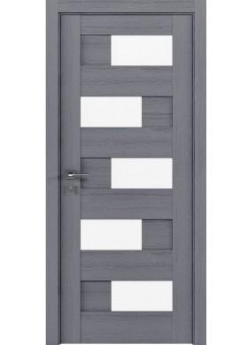 Межкомнатная дверь Rodos Verona каштан серый