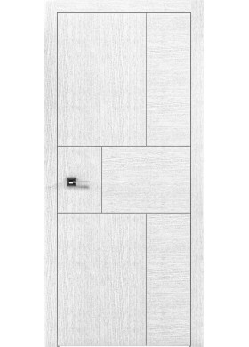 Межкомнатная дверь Rodos Liberta Domino 4 дуб белый