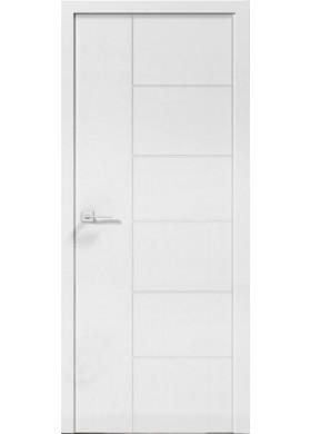 Межкомнатная дверь Гранд Paint-3 белый мат
