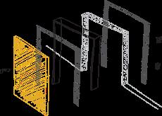 Установка дверей и ламината